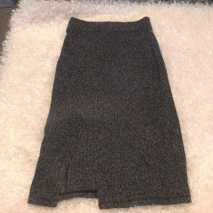 Brand new Aritzia split pencil skirt